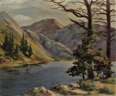 "Earl Graham Douglas, ' ""Convict Lake, High Sierra""', ca. 1920"