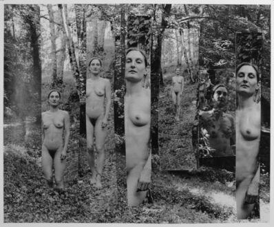 George Woodman, 'Saskia in a Tuscan Landscape', 2011