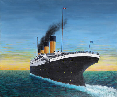 Roy Ahlgren, 'The Great Ship (Titanic)', 1998
