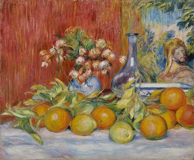 Pierre-Auguste Renoir, 'Nature morte, fleurs, oranges et citrons', 1888
