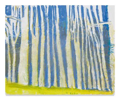 Wolf Kahn, 'Blue Woods', 2018