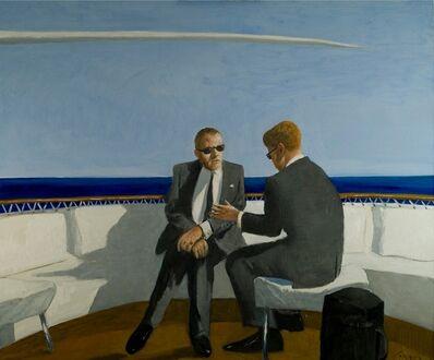 Julio Larraz, 'Soft Rumors from the Gulfstream', 2009