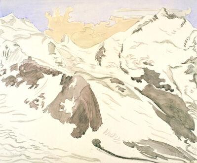 Erich Heckel, 'Schnee und Felsen II', 1957