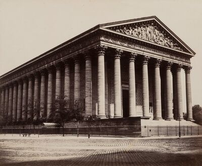 Édouard Baldus, 'Church of the Madeline', circa 1860-printed later
