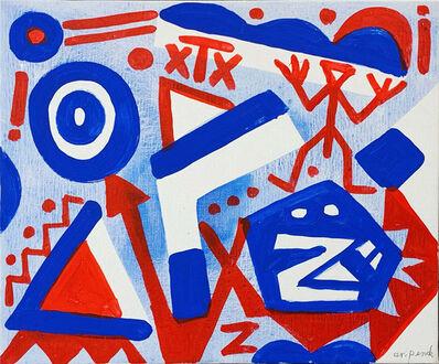 A.R. Penck, 'Insatisfaite', 2005
