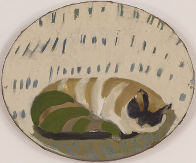 Janice Biala, 'Chat Couché', ca. 1975