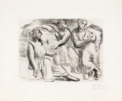 Pablo Picasso, 'La Source', 1921