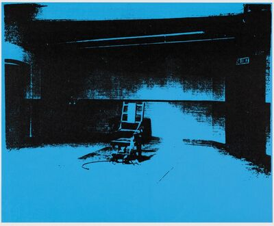 Paul Stephenson, 'Little Electric Chair - Phthalo Blue Dark', 2020