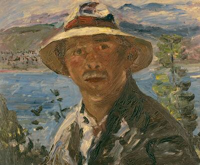 Lovis Corinth, 'Selbstbildnis (Self-Portrait)', 1923
