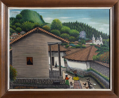 José Antonio Velasquez, 'View from the House, San Antonio de Oriente', 1962