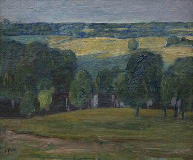 JEH MacDonald, 'Evening Light Gull River', 1922