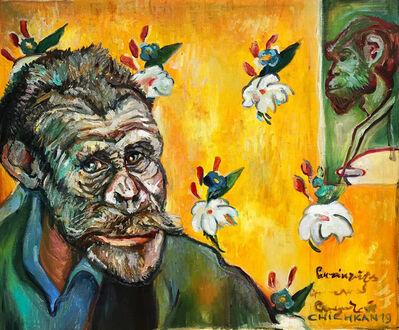 Ilya Chichkan, 'Homage to Paul Gauguin «Self-Portrait with Portrait of Émile Bernard»  ', 2019