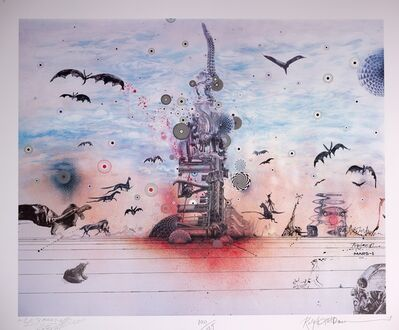 Ralph Steadman, 'Dystopia With a Glimmer of Hope', 2020