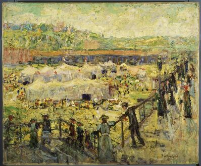 Ernest Lawson, 'Old Fashioned Circus'