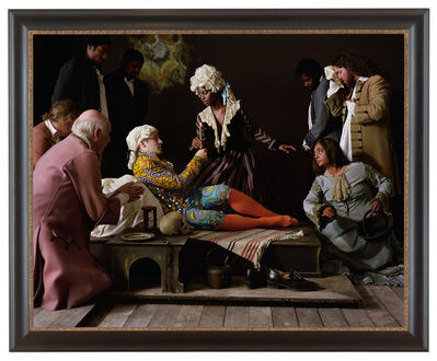Yinka Shonibare CBE, 'Fake Death Picture (The Death of St Francis- Bartolomé Carducho)', 2011