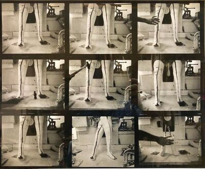 Shimon Attie, 'Vintage Silver Gelatin Photograph Surrealist Fake Limb Prosthetic Factory Photo', 1980-1989