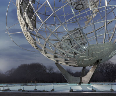 "Jade Doskow, 'New York 1964 World's Fair, ""Peace Through Understanding,"" Unisphere', 2009"
