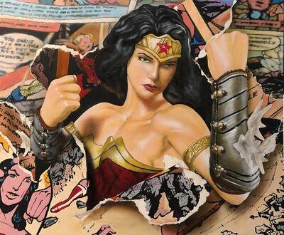 Cesar Santander, 'Wonder Woman's Revenge', 2021