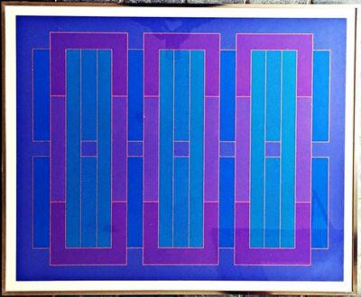 Peter Stroud, 'Blue C', 1971