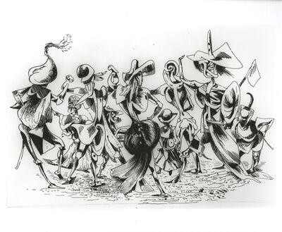 Kurt Seligmann, 'Carnival Dance', mid 20th century