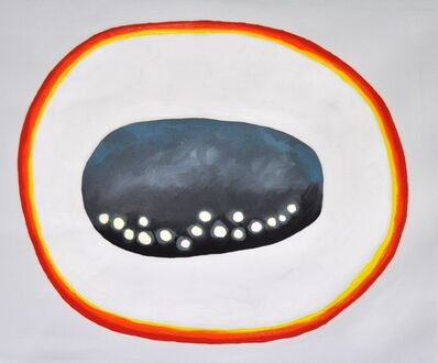Almudena Fernández Ortega, 'Nube-piedra, granizo, arcoíris sin fin', 2019