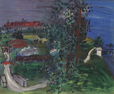Raoul Dufy, 'Paysage de Langres', 1933