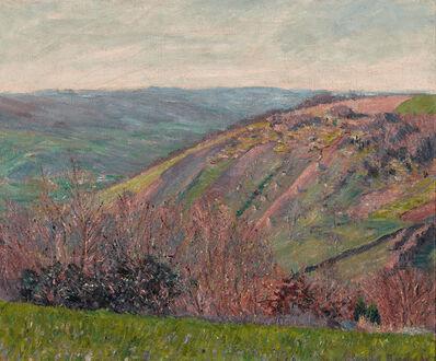 Blanche Hoschedé-Monet, 'Paysage Vallonné dans les Environs de Giverny', ca. 1890