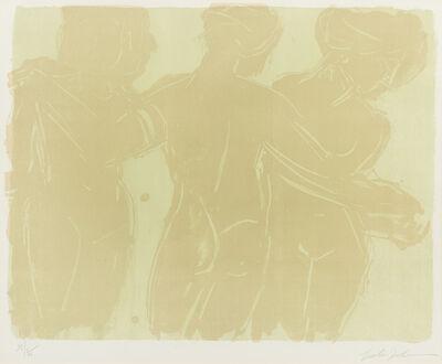 Lester Johnson, 'Three Graces', 1966
