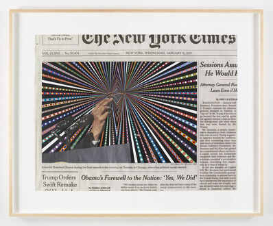 Fred Tomaselli, 'January 11, 2017', 2017
