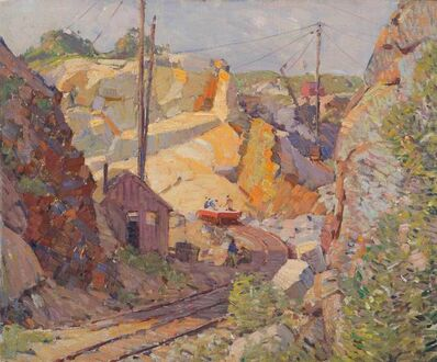 Aldro Thompson Hibbard, 'Swan Quarry, Rockport, Massachusetts', Circa early 1920s