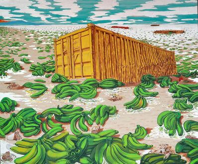 Dewey Crumpler, 'Green Bananas', 2017