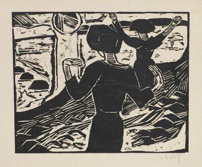 Karl Schmidt-Rottluff, 'Die Sonne', 1914