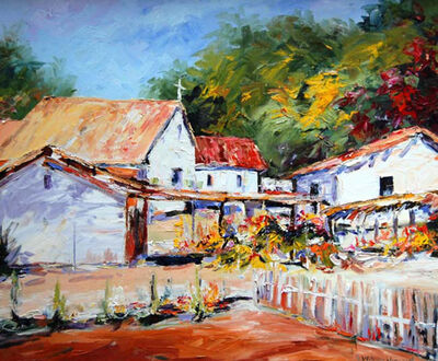 William Vincent Kirkpatrick, 'Mexican Village'