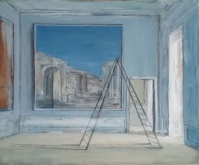 Pierre Bergian, 'Ladder with Ruins', 2018