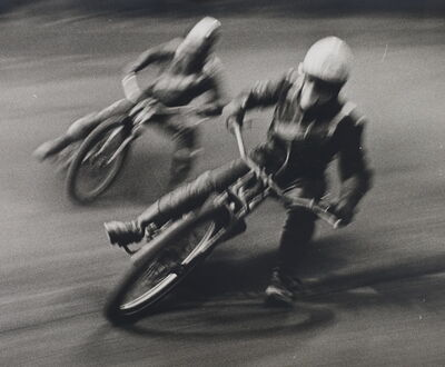 Gerry Cranham, 'Untitled (Speedway Racing), April 1963'