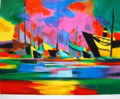Marcel Mouly, 'Navires a Quai', 1999