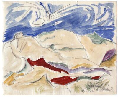 Erich Heckel, 'Dunes at Ostend', 1916