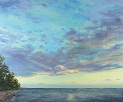 Sue Godwin, 'Tranquility on Grand Traverse Bay', 2017