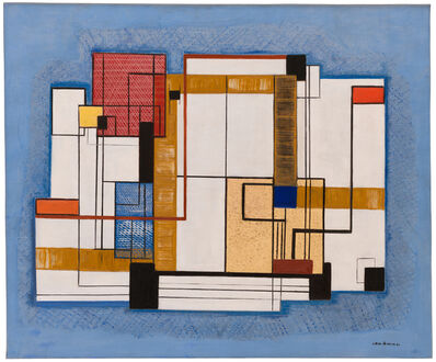 Irene Rice Pereira, 'Abstraction', 1940