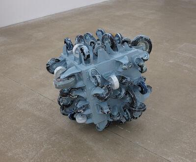 John Beech, 'Rolling Platform Berlin #1 (Light Blue)', 2019