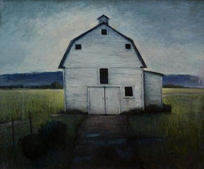 Seth Winegar, 'Backlit Barn', 2019