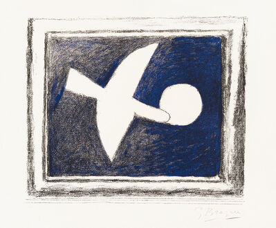 Georges Braque, 'Astre et Oiseau (Star and Bird) I', 1958-1959