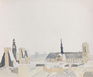 Javier Arizmendi, 'Roofs of Paris No. 1 ( diptych ) ', 2016