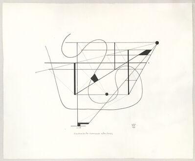 Jorge Lezama, 'Sentimiento dominando estructuras', 1958