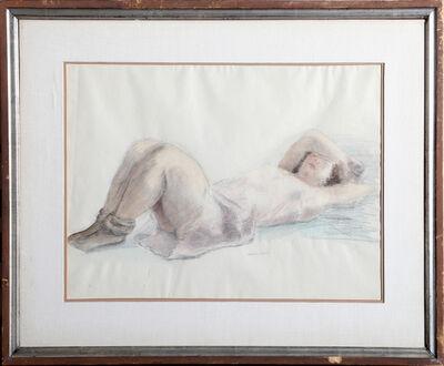Raphael Soyer, 'Sleeping Nude', ca. 1930