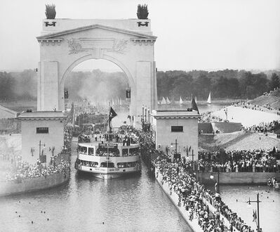 Yevgeny Khaldei, 'Festa per l'apertura del canale Volga - Don', 1951