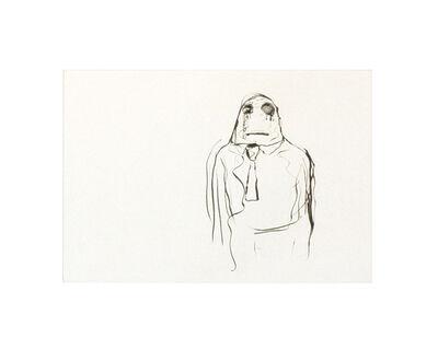Bjarne Melgaard, 'Life is a lonely buffalo III'