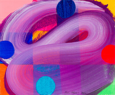 Mali Morris, 'Four Square Circle', 2012