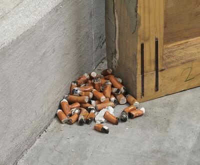 C.J. Chueca, 'Gone Cigarretes (222 units)', 2016