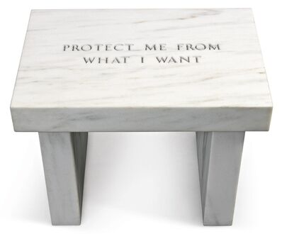 Jenny Holzer, 'Selection from Survival: Protect me...', 2006